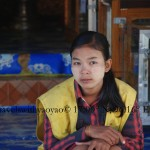 Thanaka Paste or Ground Bark Worn in Myanmar