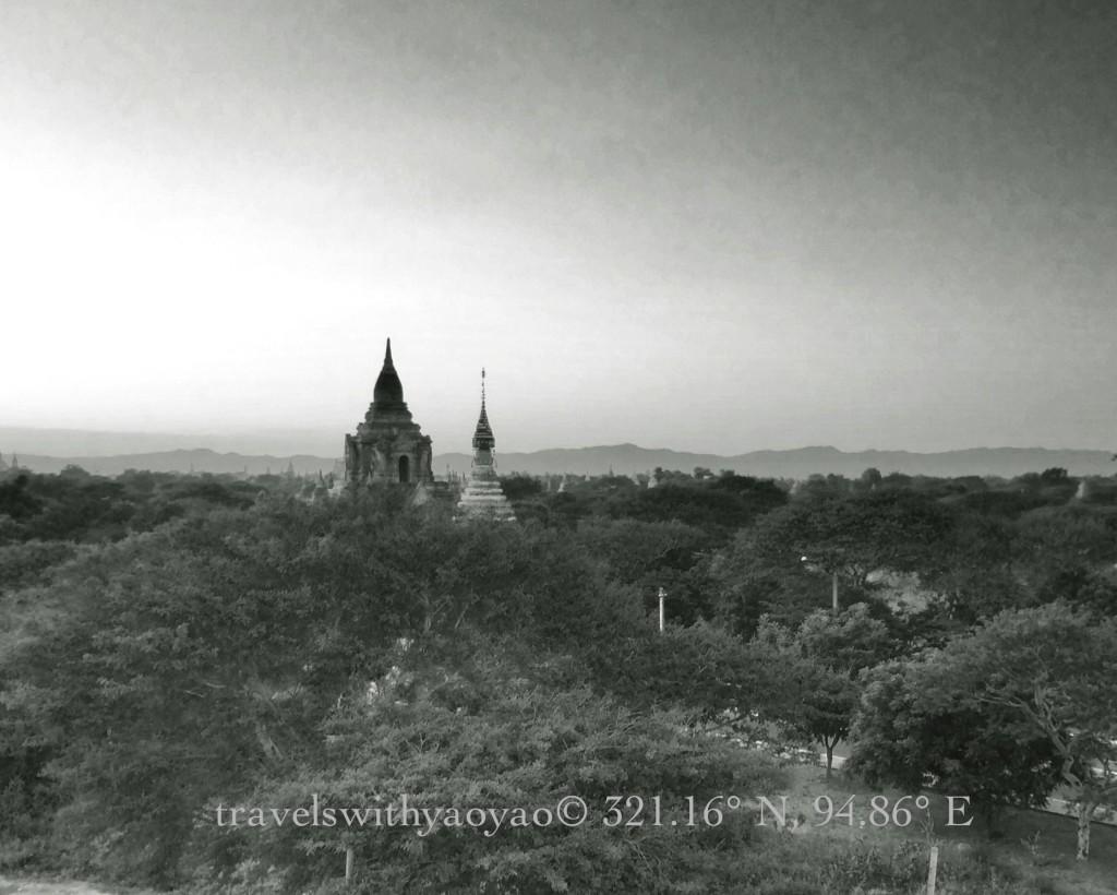 Stupas, Temples, and Pagodas in Bagan, Myanmar