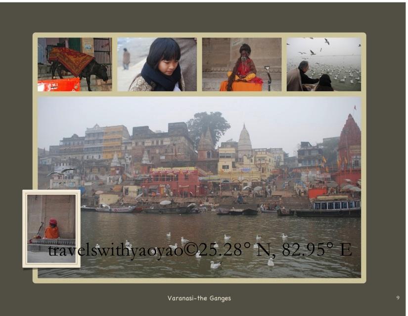 Yao Yao's India Jouranl in Varanasi  the ganges-imp