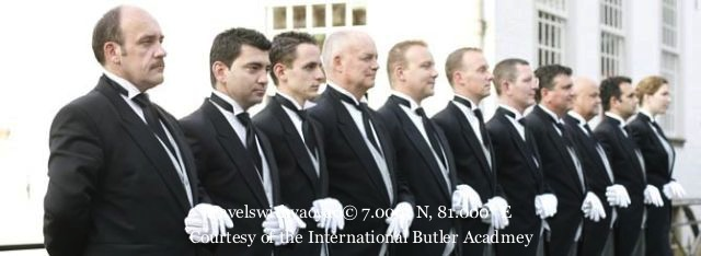 Butlers in Hotels