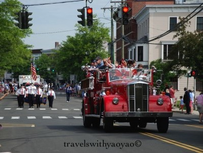 Memorial Day Parade in Connecticut