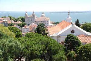 Red Rooftops in Lisbon